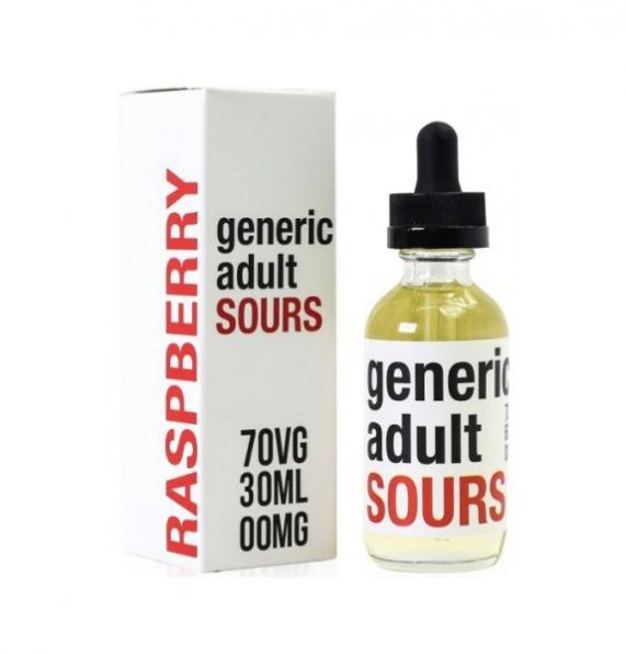 E-Liquid Raspberry Generic Adult Sours