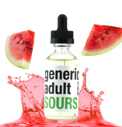 E-Liquid Watermelon 30ml Generic Adult Sours