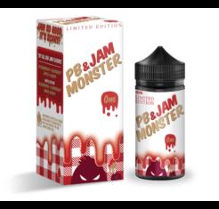 Monster Jam Frutilla y Mantequilla Mani 100ml