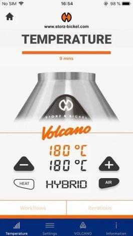 App vaporizador Hybrido