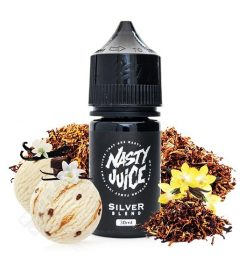 NASTY JUICE SALT Silver Blend Tabaco Vainilla 30ml