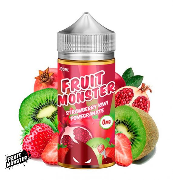 liquido monster fruit Frutilla kiwi