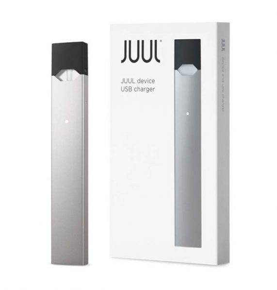 juul basic kit chile silver