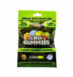 Gomitas de CBD Amplio Espectro