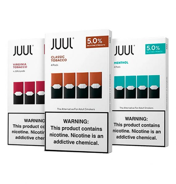 Pack pods Juul 4 unidades